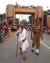 World March blessed by Ghandi's grand-daughter